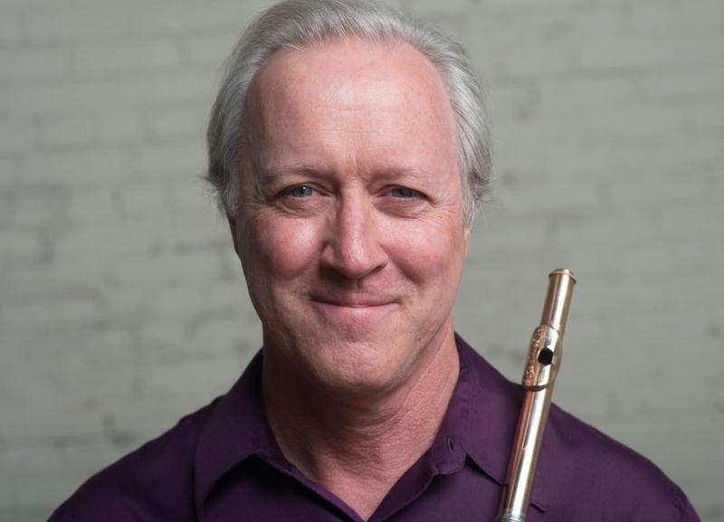 Flutist Edward Schultz