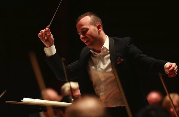 Yannick Nézet-Séguin conducting The Philadelphia Orchestra