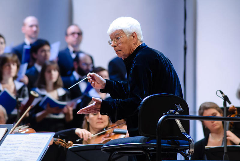 Conductor Helmuth Rilling