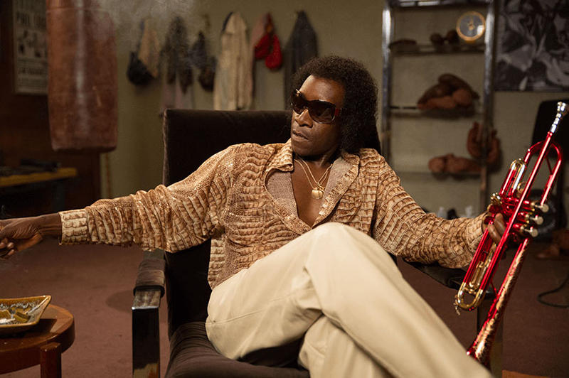 MILES AHEAD, a new film about Miles Davis, stars Don Cheadle and Ewan McGregor.