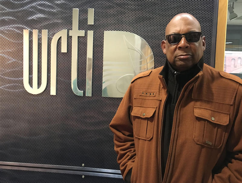 Warren Oree at the WRTI studios in March, 2016.