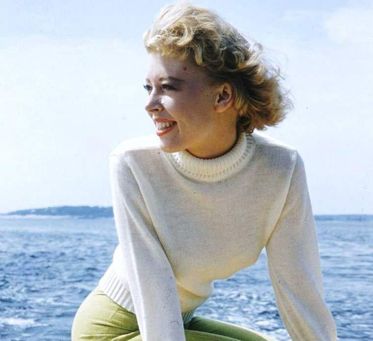 John Williams' first wife, actress and singer Barbara Ruick, circa 1956.