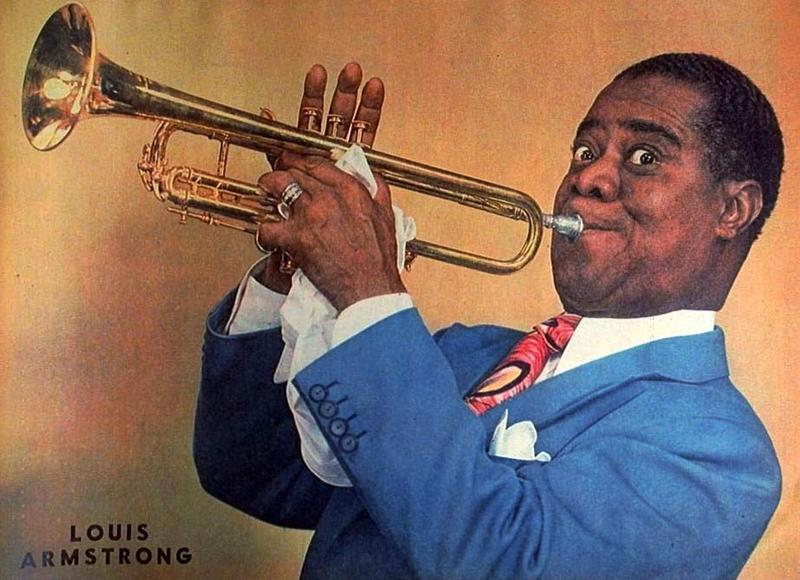 Louis Armstrong in 1947