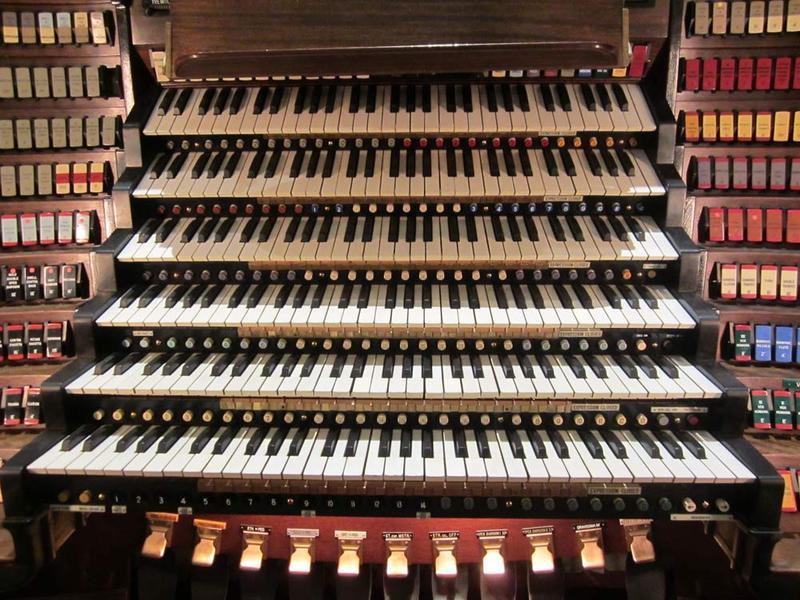 Wanamaker Organ Console