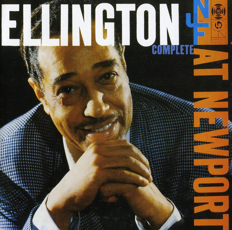 The cover of Duke Ellington's 1956 album, recorded live at the Newport Jazz Festival