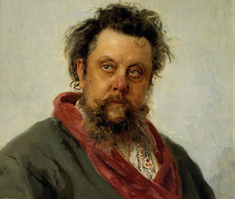 Modest Mussorgsky (Ilya Repin, 1881)