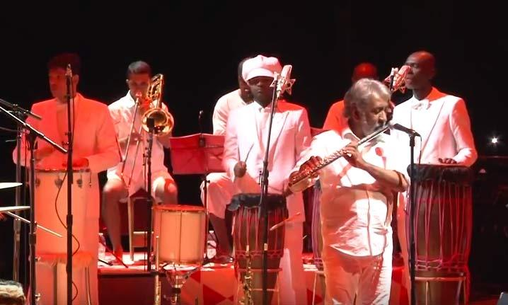 Letieres Leite and Orkestra Rumpilezz at the July 31, 2015 concert at TPAC
