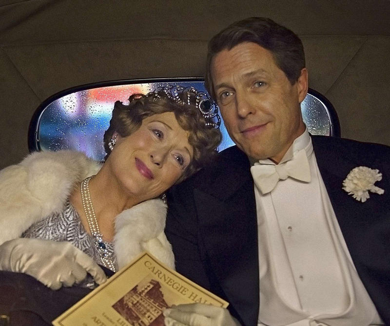 Meryl Streep and Hugh Grant in the film, 'Florence Foster Jenkins.'