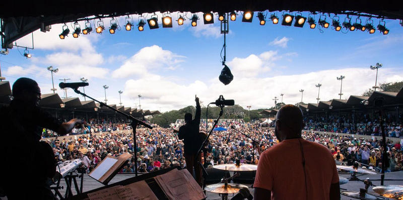A recent scene from the Monterey Jazz Festival.