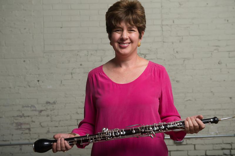 Elizabeth Starr Masoudnia, English horn of The Philadelphia Orchestra