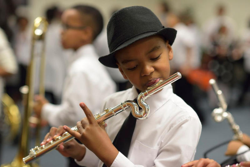 Play On, Philly! currently serves 275 students, K-12, in 3 city schools with 35 teaching artists.