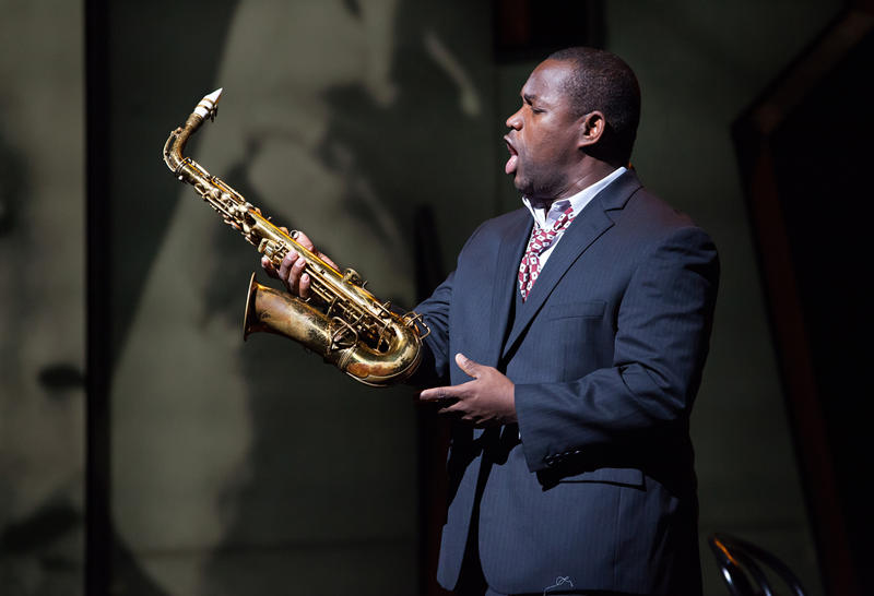 Tenor Lawrence Brownlee sings the role of Charlie Parker