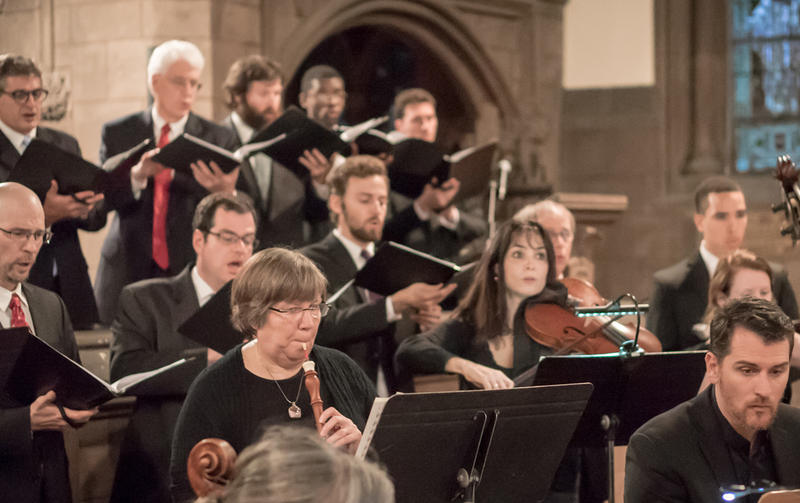 Choral Arts Philadelphia presents Bach's six-cantata Christmas Oratorio on New Year's Eve in West Philadelphia.