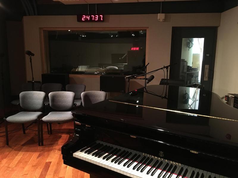 The WRTI performance studio