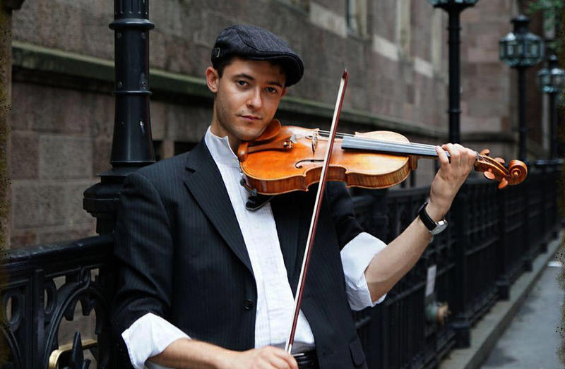 Violinist and pianist Ben Sutin is on of the special guests on The Bridge, Friday at 10 pm.