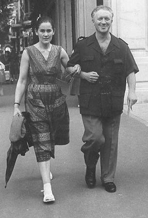 Hanna and Joseph Beer in France, 1953