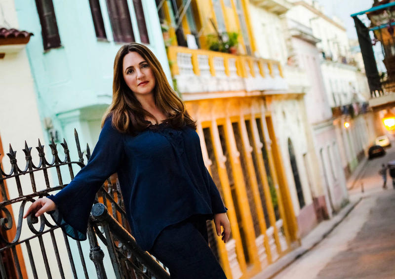 """Mozart in Havana"" is pianist Simone Dinnerstein's new CD, with the Havana Lyceum Orchestra"