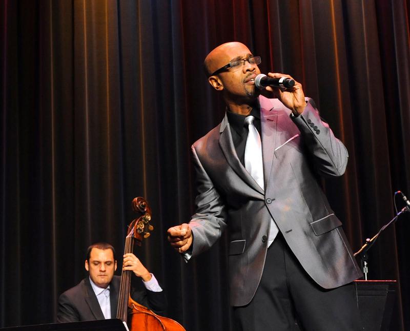 Jazz singer Kevin Valentine