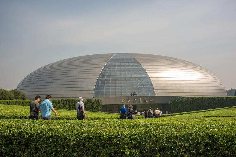 The National Centre for the Performing Arts (NCPA) in Beijing. The NCPA is one of the Orchestra's long-standing partners in two-way cultural exchange.