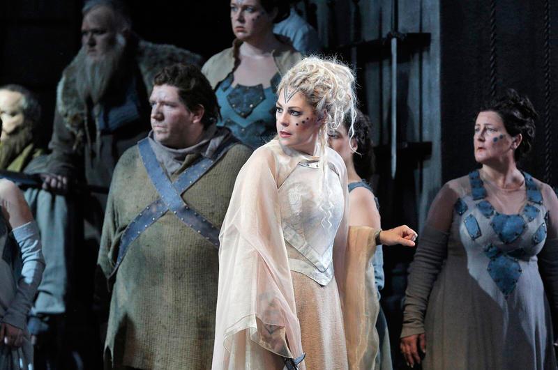 Soprano Sondra Radvanovsky sings the title role in Bellini's NORMA.