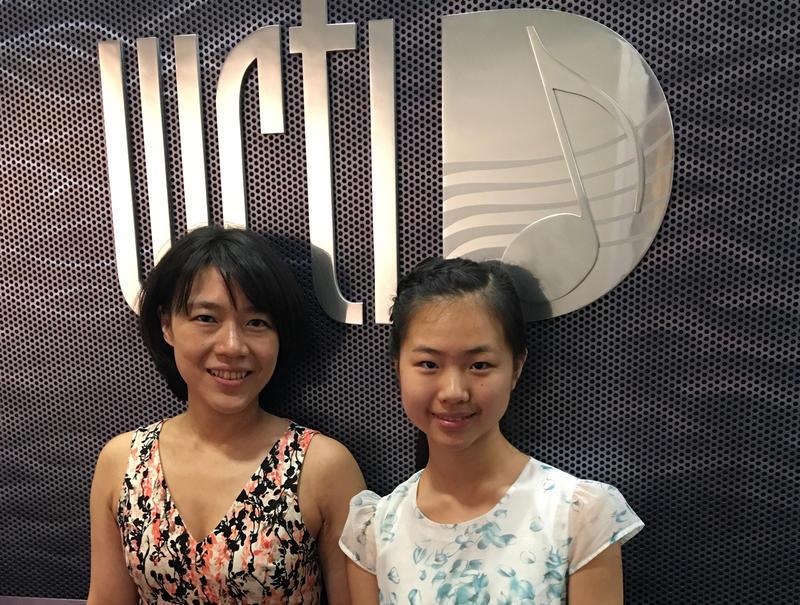 Ching-Yun Hu, PYPA founder, and Chunyi Wang, PYPA festival student.