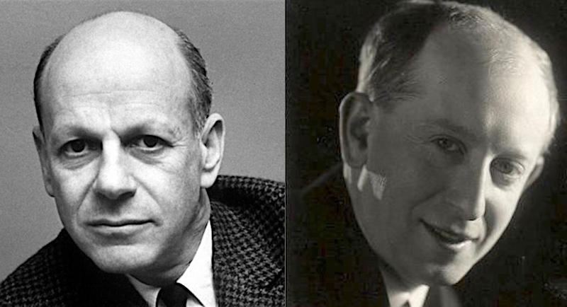 Composers William Schuman and Jaromir Weinberger
