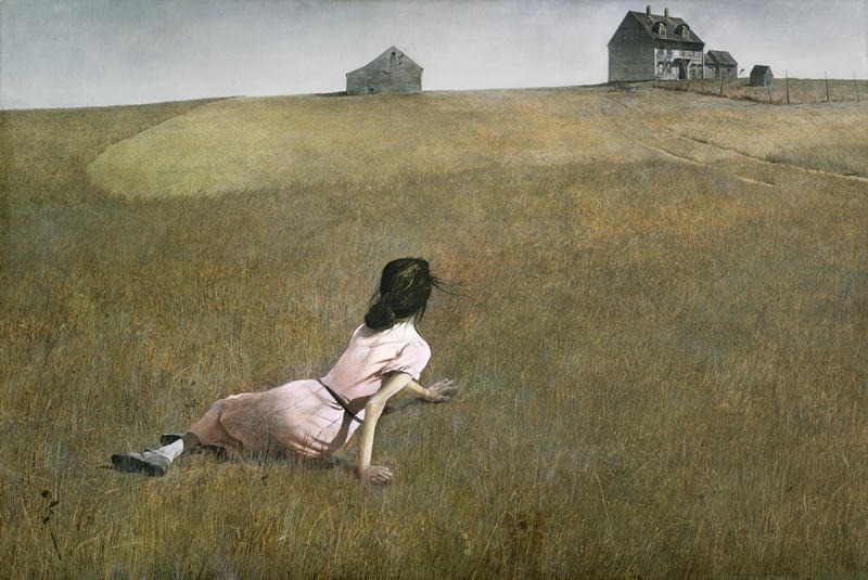 """Christina's World"" is among the works by Andrew Wyeth that captivate composer Jennifer Higdon"