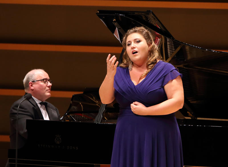 Soprano Claire de Monteil is an AVA resident artist from Paris, France