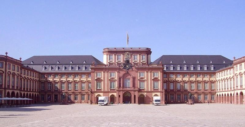 The palace at Mannheim