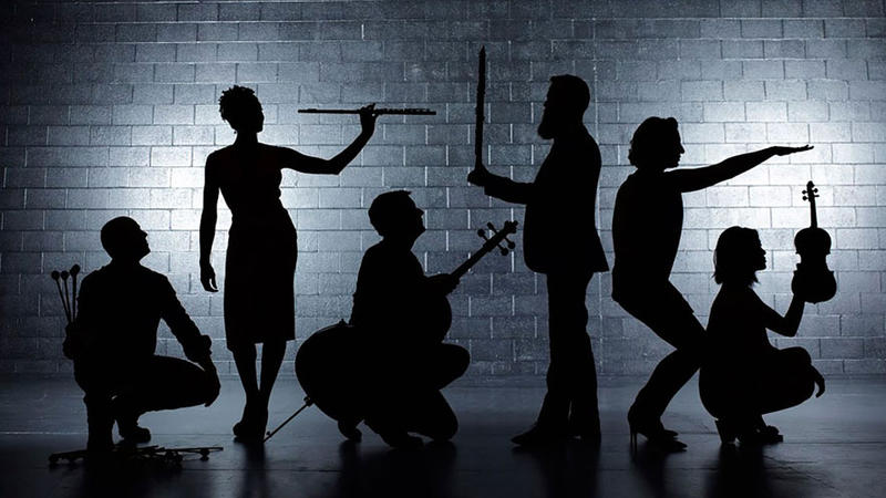 The Chicago-based Eighth Blackbird ensemble is dedicated to perfoming music by living composers.