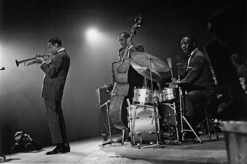 Lee Morgan with Art Blakey and the Jazz Messengers in 1960