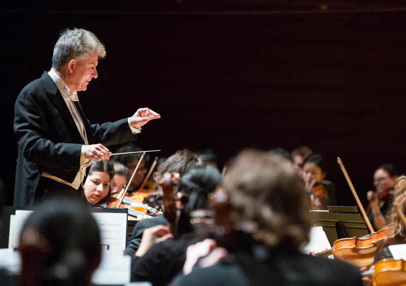 Andreas Delfs is artistic director of the Temple University Symphony Orchestra.