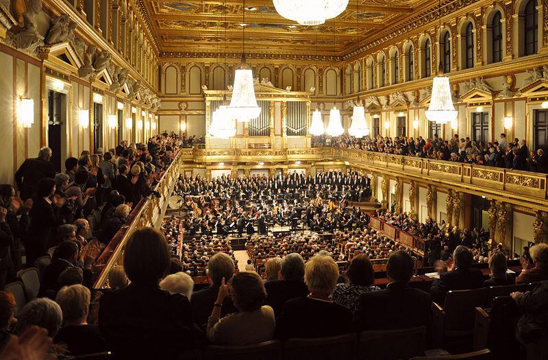 At the Musikverein in Vienna