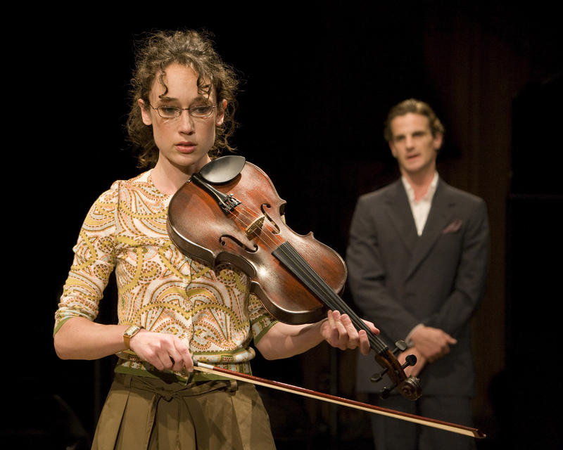 From a production of Michael Hollinger's OPUS from 2009
