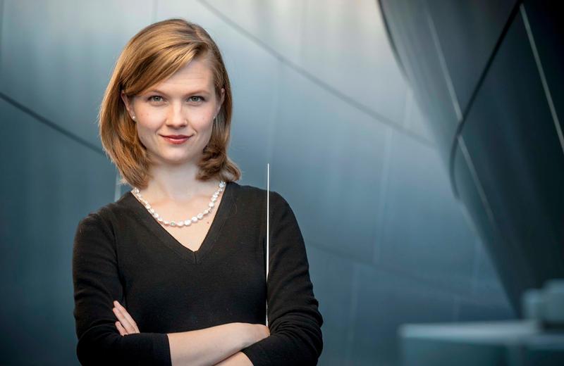 Conductor Mirga Gražinyte-Tyla