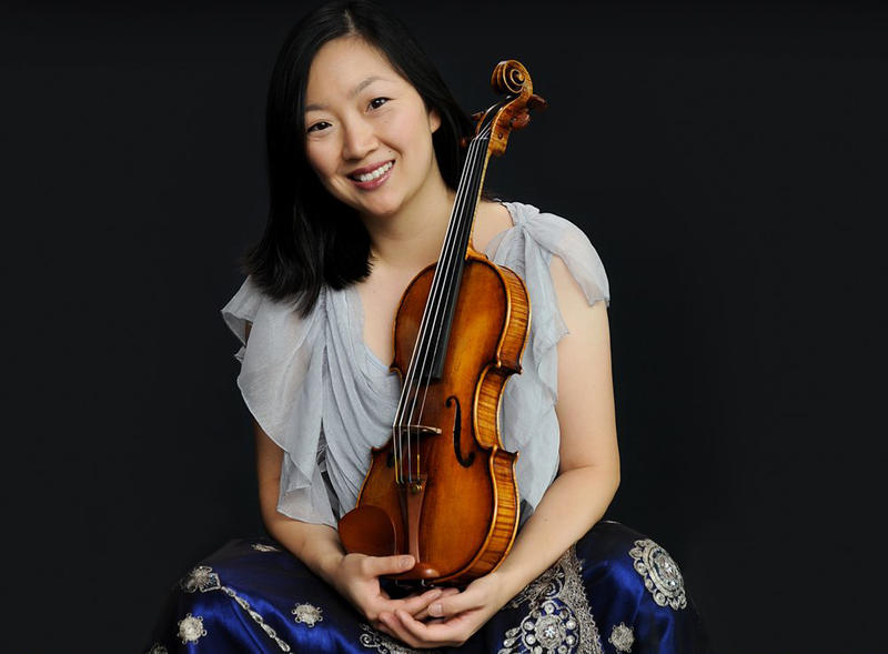 Violinist Juliette Kang