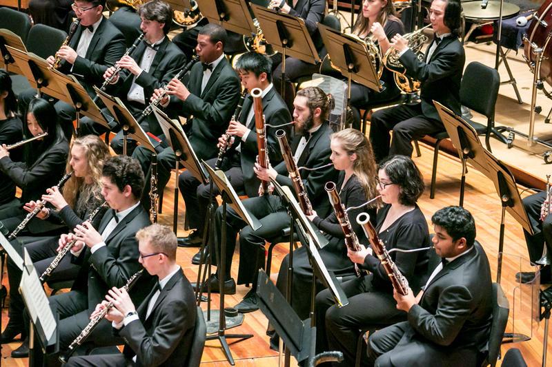 Philadelphia Youth Orchestra in November, 2017