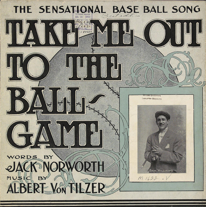 """Sheet music for """"Take Me Out To The Ballgame"""""""