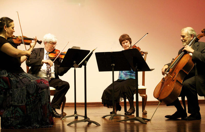 Wister Quartet includes: Nancy Bean and Davyd Booth, violins; Pamela Fay, viola; Lloyd Smith, cello