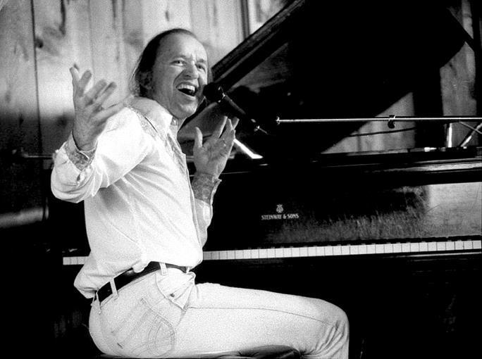 Bob Dorough, 1980s at Bach Dancing & Dynamite Society, Half Moon Bay CA