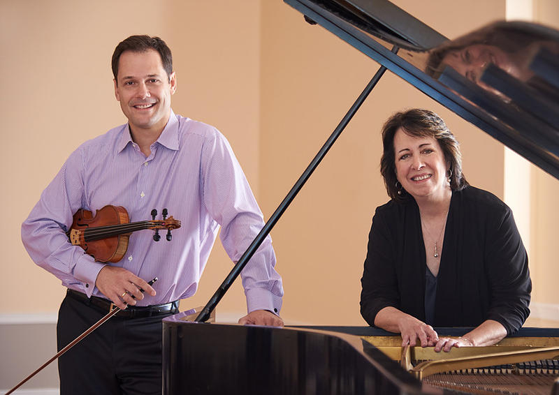 Violinist Guillaume Combet and pianist Sandra Carlock