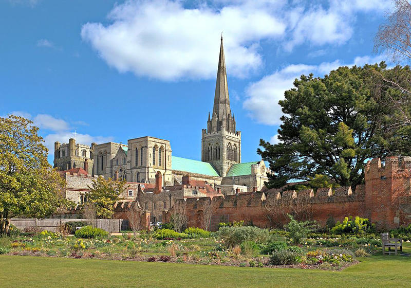 Chichester Cathderal in Sussex, United Kingodm