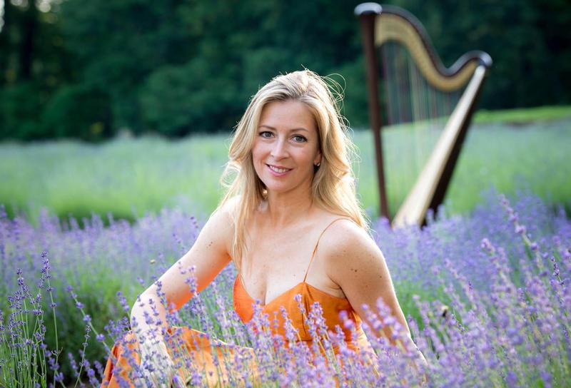 Elizabeth Hainen, principal harp of the Philadelphia Orchestra