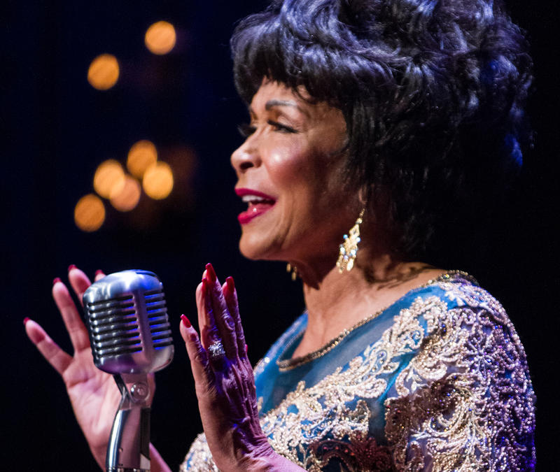 Freda Payne as Ella Fitzgerald at Delaware Theatre Company through May 13, 2018.