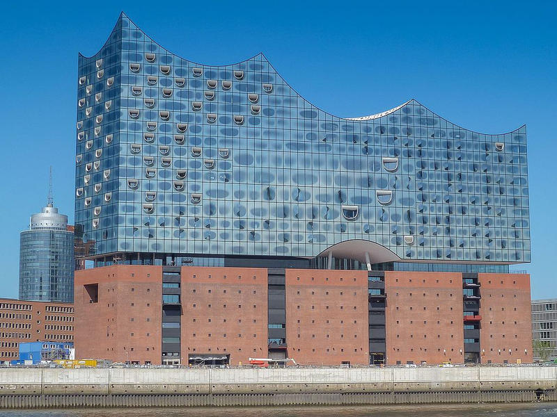 The Elbphilharmonie in Hamburg, Germany