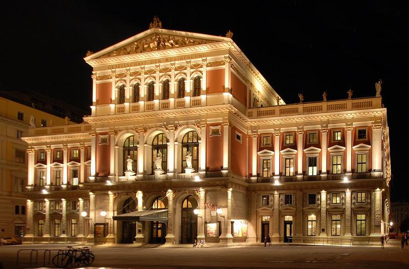 The Musikverein in Vienna, Austria