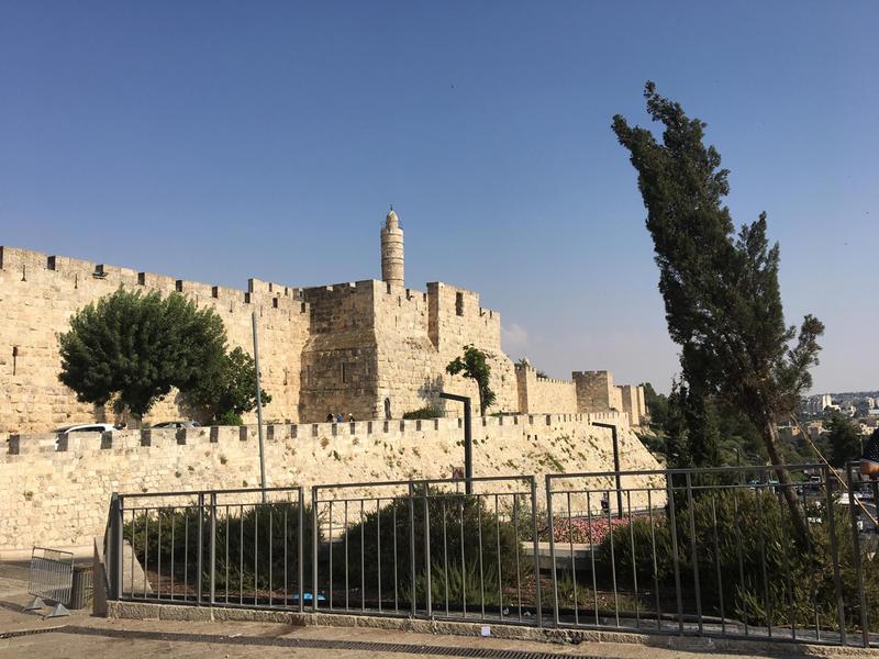 Outside Jerusalem's Old City