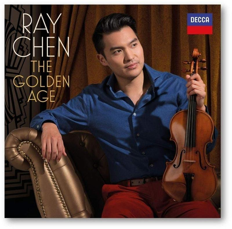 The Golden Age is Ray Chen's first release with Decca