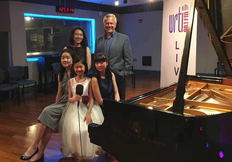 Finalists with PYPA Founder and Director Ching-Yun Hu and WRTI Classical Host Kevin Gordon