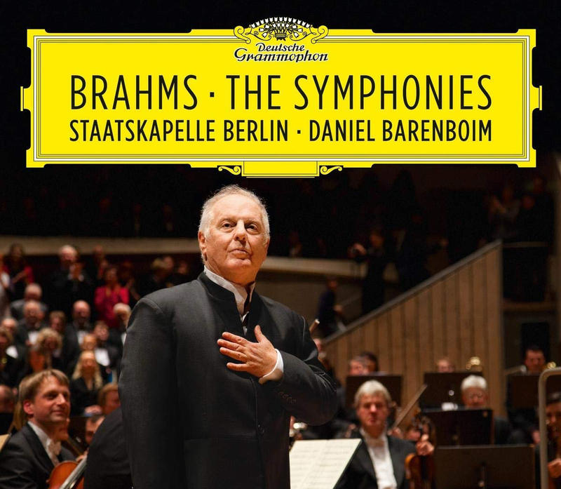 Daniel Barenboim conducts the four symphonies of Johannes Brahms with the Staatskapelle Berlin